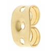 Earring Clutch Butterfly Gold